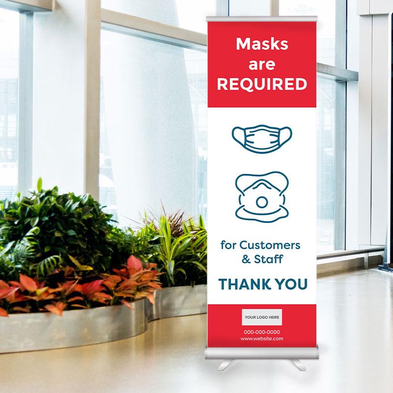 COVID-19 Signage Mask PPE