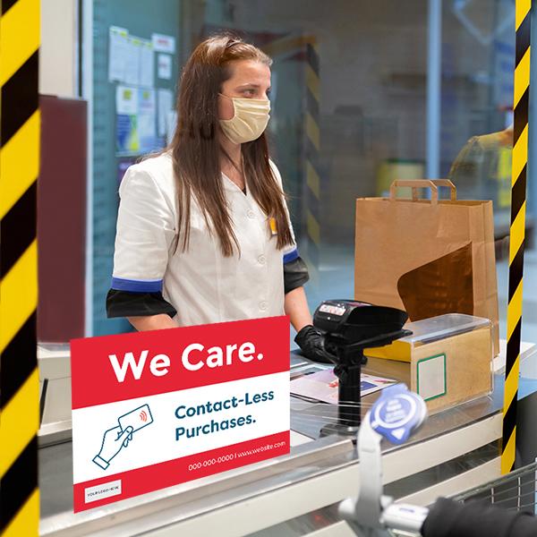 COVID-Signage Safety Acrylic
